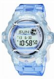 Casio Ladies Baby-G Alarm Digital Watch BG-169R-6ER Purple